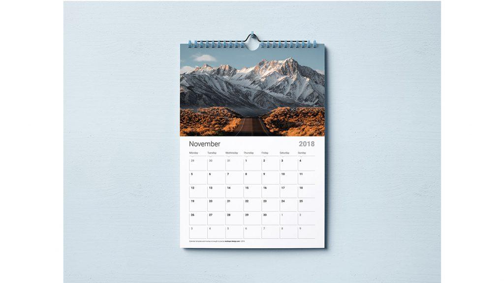 Jenis Kalender Dinding