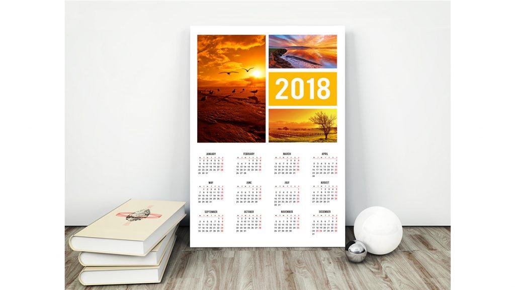 Jenis Kalender Poster