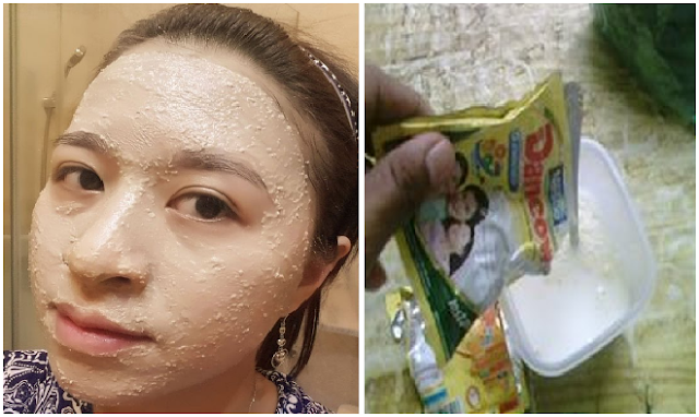 Masker Susu Dancow Untuk Wajah Berminyak Dan Jerawat Blog Review Dan Opini