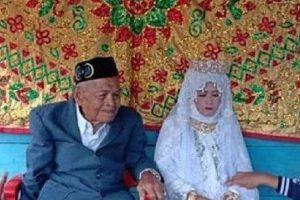 Viral Kakek 103 Tahun Nikahi Gadis 30 Tahun