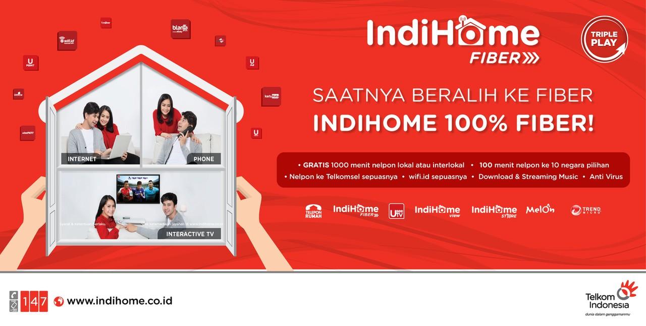 Harga Paket Indihome Surabaya Sidoarjo dan Gresik