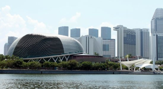 Esplanade by the Bay: Art Center of Singapore
